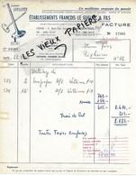 95 - Val-d'oise - ARGENTEUIL - Facture LE GUELLEC - Fabrique De Soupapes - 1953 - REF 148A - 1900 – 1949
