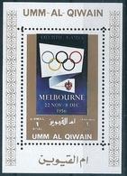 B8602 UAE Umm Al-Qaiwain Olympic History Melbourne 1956 S/S MNH - Sommer 1956: Melbourne