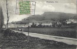 Luxembourg  -  Pretten  -  Edit  Hansen , Mersch - 2 Scans - Pétange