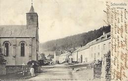 Luxembourg  - Schoenfels , Le Village - Nels , Luxembourg , Série 14 No.12  - 2 Scans - Pétange