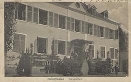 Luxembourg -  NIEDERFEULEN  -  SANATORIUM - Maison De Gros P.Houstraas , Luxembg  -  2 Scans - Pétange