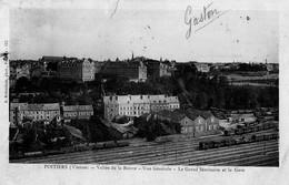 CPA - 86 - POITIERS - Vallée De La Boivre - Vue Générale - Le Grand Séminaire Et La Gare - Poitiers