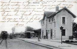 CPA - 41 - CONTRES - La Gare - Contres