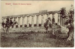 AGRIGENTO GIRGENTI TEMPIO GIUNONE LACINIA - Agrigento