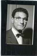 Photo De Presse  Politique  ALGERIE .  MOHAMED BOUHARAOUA  Président Du Conseil D'alger En 1959 - Identified Persons