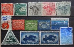 NEDERLAND  Luchtpost   Lp 1 - Lp 3 / Lp 4 - Lp 5 / Lp 6 - Lp 8 En Lp 9 - 10 - 11 - 14 - 15 En 16  Gstemp. CW 25,50 - Airmail