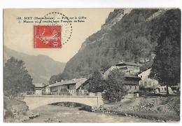 SIXT Haute Savoie Cachet Bureau Distribution 1.8.1908 Sur 10c Semeuse Cpa LC Editeur N° 158     ...G - 1877-1920: Periodo Semi Moderno
