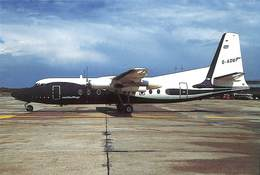 026 532 - CP - Avions - Ratioflug - Fokker F-27-500 - D-ADUP - 1946-....: Modern Era