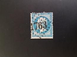 GC 1763, Hatten,  Bas Rhin. - Marcophilie (Timbres Détachés)