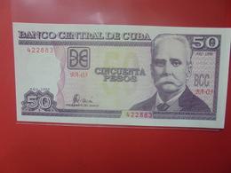 CUBA 50 PESOS 1998 PEU CIRCULER/NEUF (B.12) - Cuba