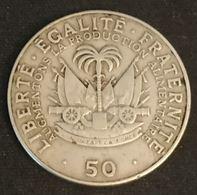 HAITI - 50 CENTIMES 1975 - FAO - KM 101a - Haiti