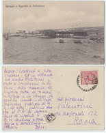 Porto Torres - Spiaggia E Bagnetto, 1918 - Otras Ciudades