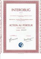 75-INTEROBLIG.  SICAV - Acciones & Títulos