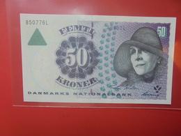 DANEMARK 50 KRONER 1999-2007 PEU CIRCULER/NEUF (B.12) - Denmark