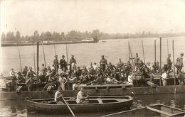 HEMIKSEM - FOTO Kaart - II De Genie St. Bernard - Ponton / Pontage - Foto F. Van Camp, Deurne (Noord) - 1929 - Hemiksem