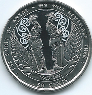 New Zealand - Elizabeth II - 2015 - 50 Cents - Remembrance - Spirit Of Anzac - KM376 - Nieuw-Zeeland