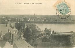 SL 3 X Cpa 41 BLOIS. Le Faubourg 1905, Vue Générale Et Prise Du Chemin De Fer - Blois