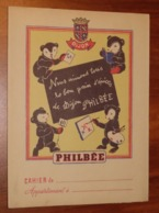 PROTÈGE CAHIER - Pain D'épices PHILEE De Dijon - Ours - Années 50 - 18x24 - Très Bon Etat D'usage : Voir Photos - 24 - Protège-cahiers