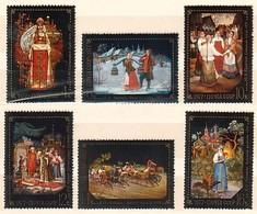 RUSSIA & USSR - 1977 - Oeuvres De Paintres Du Village Tableaux - Mi 4581/86 - 6v** - 1923-1991 URSS