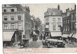 Den Haag - Hoogstraat Groenmarkt - Tram - 1901 - Den Haag ('s-Gravenhage)
