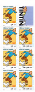 France. Carnet Bc3305 Tintin Fete Du Timbre. Annee 2000 N** - Dag Van De Postzegel