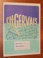 PROTÈGE CAHIER - Fromage GERVAIS - Années 50 - 18x24 - Bon Etat D'usage : Voir Photos - 26 - Protège-cahiers