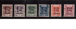 Burma-1947,(Mi.41-46) ,Used(6 Stamps) - Myanmar (Burma 1948-...)