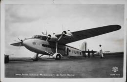 CPA. > Avions > 1919-1938: Entre Guerres > L'Avion SAVOIA-MARCHETTI De Paris-Rome De La Cie Ala Littoria - BE - 1919-1938: Fra Le Due Guerre