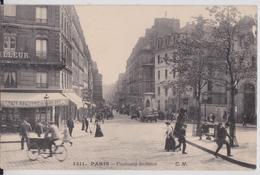 PARIS 10e - Faubourg Saint-Denis Plaque Phonographe Phonographes Edison Columbia Danse CM 1311 - Distretto: 10