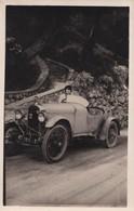 CARTE PHOTO ANCIENNE AUTOMOBILE DE SPORT  AMILCAR - Passenger Cars