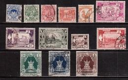 Burma-1949,(Mi.103-115) ,Used(13 Stamps) - Myanmar (Burma 1948-...)