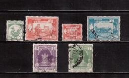 Burma-1952,(Mi.127-134) ,Used(6 Stamps) - Myanmar (Burma 1948-...)