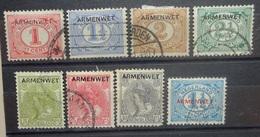 NEDERLAND  Dienstzegels   D 1 - D 8     Gestempeld     CW 240,00 - Officials