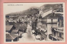 OUDE POSTKAART - ZWITSERLAND - SUISSE -    MONTREUX - TRAM - LA ROUVENAZ - VD Vaud