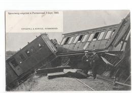 Purmerend - Spoorweg Ongeluk - 1905 - Purmerend