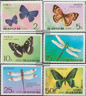 North-Korea 1653A-1658A (complete Issue) Unmounted Mint / Never Hinged 1977 Butterflies And Dragonflies - Korea, North
