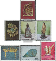 North-Korea 1645A-1651A (complete Issue) Unmounted Mint / Never Hinged 1977 Cultural Objects - Corée Du Nord