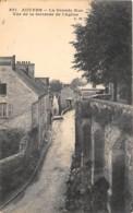 VAL D'OISE  95  AUVERS - LA GRANDE RUE VUE DE LA TERRASSE DE L'EGLISE - Auvers Sur Oise