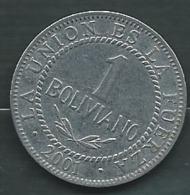 Bolivie 1 Bolivano   Année  2001  Pieb23106 - Bolivia