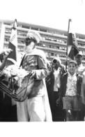 Putsch D'ALGER Ou Coup D'Etat Du 13 Mai 1958 - Devant Le Forum - Délégation De Bou-Saâda - Algiers