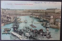 CPA 29 BREST - Panorama Du Port De Guerre - Edit. Procédé Jeangette 9 - Réf. B 120 - Brest