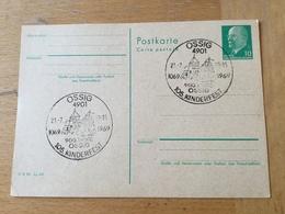 K2 DDR Ganzsache Stationery Entier Postal P 75 Mit Sst. Von Ossig Kinderfest - [6] Democratic Republic