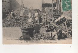 CPA  AY LES EMEUTES EN CHAMPAGNE AVRIL 1911 COURS DES ETABLISSEMENTS DEUTZ APRES LE PILLAGE - Non Classés