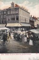 2603113Den Haag, De Groote Markt En Boekhorststraat. (poststempel 1904)(bovenin Punaisegaatje, Zie Hoeken) - Den Haag ('s-Gravenhage)