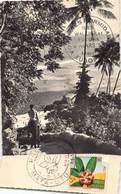 Iles Wallis Et Futuna - Premier Jour 1958 Cachet Mata-Utu - Wallis Et Futuna