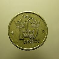 Sweden 10 Kronor 1991 - Schweden