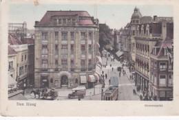 2603256Den Haag, Groenmarkt (poststempel 1929)(zie Hoeken) - Den Haag ('s-Gravenhage)