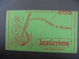BUVARD - CIRAGE LASTICREME , PURE TEREBENTINE - Carte Assorbenti