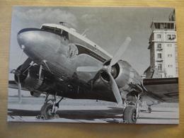 AEROPORT / AIRPORT / FLUGHAFEN     BORDEAUX MERIGNAC  DC 3 DE L ENAC - Aérodromes