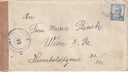 TCHECOSLOVAQUIE 1948   LETTRE CENSUREE DE POHORELICE POUR  WIEN - Czechoslovakia
